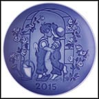 The First Kiss Collector Plate by Sven Vestergaard
