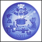 The Little Chef Collector Plate by Sven Vestergaard