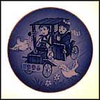The Little Racers Collector Plate by Sven Vestergaard