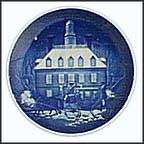 Christmas In Williamsburg Collector Plate by Jack Woodson