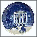 Christmas At The White House Collector Plate by Jack Woodson