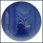 The Old Organist Collector Plate by C. Ersgaard MAIN