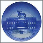 Royal Castle Of Amalienborg Collector Plate by Th. Larsen