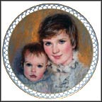 Elizabeth And David Collector Plate by Addie Heesen Cooper