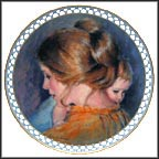 Joanna And Jon Collector Plate by Addie Heesen Cooper MAIN