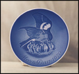 Bird And Chicks Collector Plate by Henry Thelander