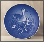 Duck And Ducklings Collector Plate by Henry Thelander