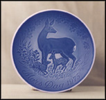 Doe And Fawns Collector Plate by Henry Thelander