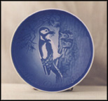 Woodpecker And Young Collector Plate by Henry Thelander