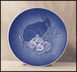 Hare And Young Collector Plate by Henry Thelander