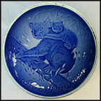 Koala And Young Collector Plate by Allan Therkelsen MAIN