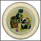 Kittens Collector Plate by Marilyn Leader MAIN