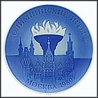 Olympiad - Moscow Collector Plate