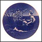 The Little Viking Collector Plate by Sven Vestergaard MAIN
