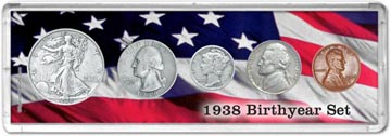 1938 Birth Year Coin Gift Set THUMBNAIL
