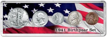 1941 Birth Year Coin Gift Set THUMBNAIL
