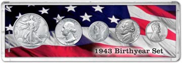 1943 Birth Year Coin Gift Set THUMBNAIL