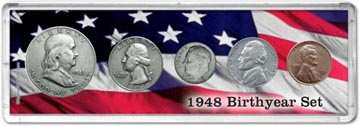 1948 Birth Year Coin Gift Set THUMBNAIL