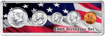 1965 Birth Year Coin Gift Set THUMBNAIL