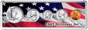 1967 Birth Year Coin Gift Set THUMBNAIL