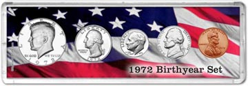 1972 Birth Year Coin Gift Set THUMBNAIL