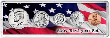2007 Birth Year Coin Gift Set THUMBNAIL