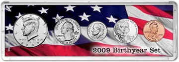 2009 Birth Year Coin Gift Set THUMBNAIL