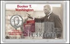 Booker T. Washington Commemorative Half Dollar Display THUMBNAIL