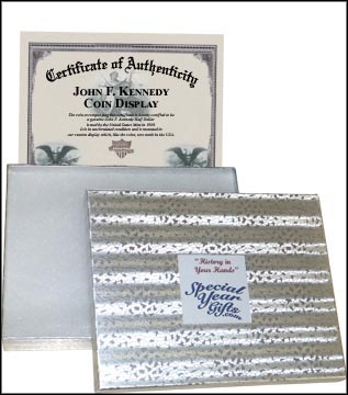 gift box and certificate of authenticity