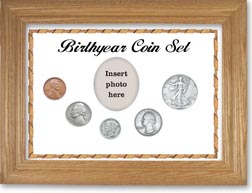 1939 Birth Year Coin Gift Set with a white background and wheat frame THUMBNAIL
