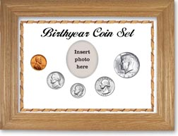 1967 Birth Year Coin Gift Set with a white background and wheat frame THUMBNAIL