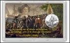 Christopher Columbus Commemorative Half Dollar Display THUMBNAIL