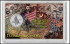 Civil War Commemorative Half Dollar Display THUMBNAIL