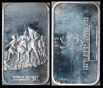Spirit of '76' Art Bar by US Coinage Corp.