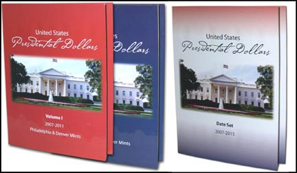 Presidential Dollar Folders