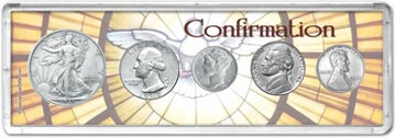 1943 Confirmation Coin Gift Set THUMBNAIL