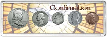 1950 Confirmation Coin Gift Set THUMBNAIL