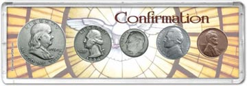 1954 Confirmation Coin Gift Set THUMBNAIL