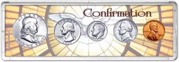 1957 Confirmation Coin Gift Set THUMBNAIL