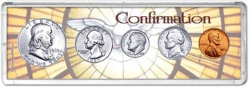1963 Confirmation Coin Gift Set THUMBNAIL