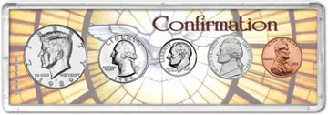 1989 Confirmation Coin Gift Set THUMBNAIL