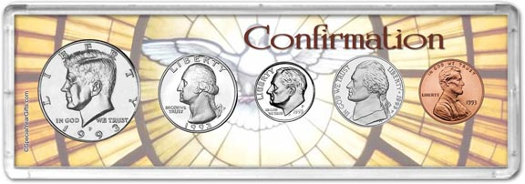 1993 Confirmation Coin Gift Set LARGE