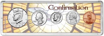 1996 Confirmation Coin Gift Set THUMBNAIL