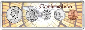 2005 Confirmation Coin Gift Set THUMBNAIL