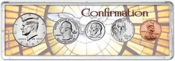 2007 Confirmation Coin Gift Set THUMBNAIL
