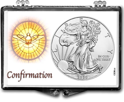 2020 Confirmation American Silver Eagle Gift Display LARGE
