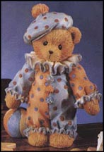 Dudley - Just Clowning Around, Cherished Teddies Figurine #103748
