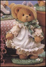 Hope - Our Love Is Ever-Blooming, Cherished Teddies Figurine #103764