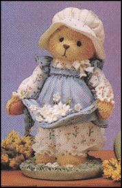 Gail - Catching The First Blooms Of Friendship, Cherished Teddies Figurine #103772
