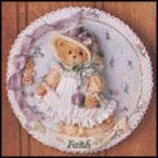 Faith, Cherished Teddies Plaque #104140A